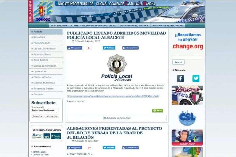 Sindicado Profesional de Policías Locales de Castilla-La Mancha
